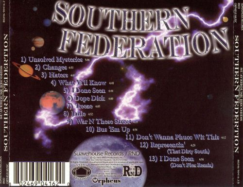 Suavehouse Records Presents: Southern Federation