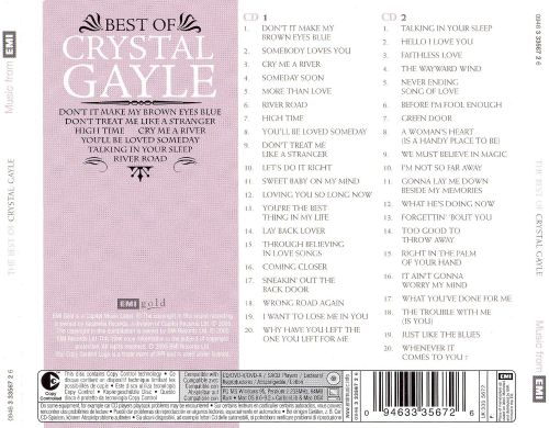 The Best of Crystal Gayle [EMI Gold]