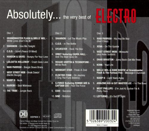 Absolutely...The Very Best of Electro