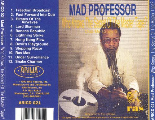 Who Knows the Secret of the Master Tape?: Dub Me Crazy Pt. 5