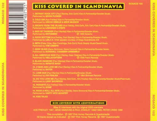 Kiss Covered in Scandinavia [Limited 2CD Edition]