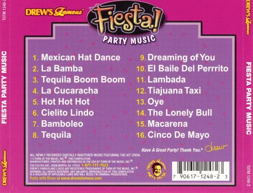 Drew's Famous Fiesta Party Music [2002]