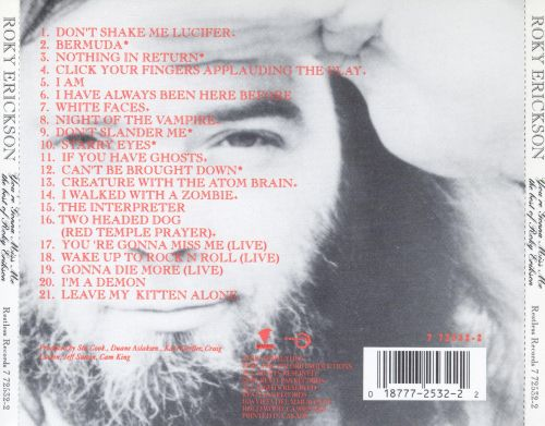 You're Gonna Miss Me: The Best Of Roky Erickson
