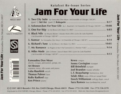 Jam for Your Life!