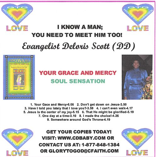 I Know a Man; You Need to Meet Him Too (Your Grace & Mercy Soul Sensation)