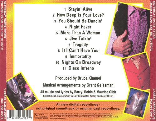 Saturday Night Fever: Themes from the Hit Musical