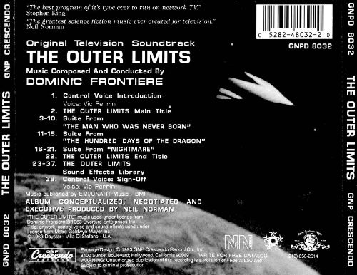 The Outer Limits [Original 1963 TV Soundtrack]