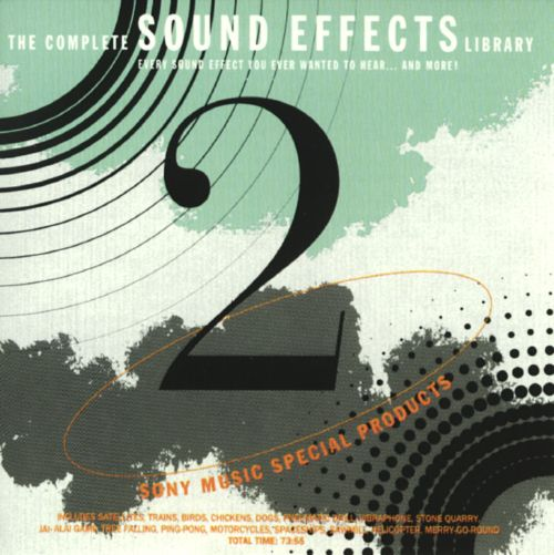 The Complete Sound Effects Library, Vol. 2