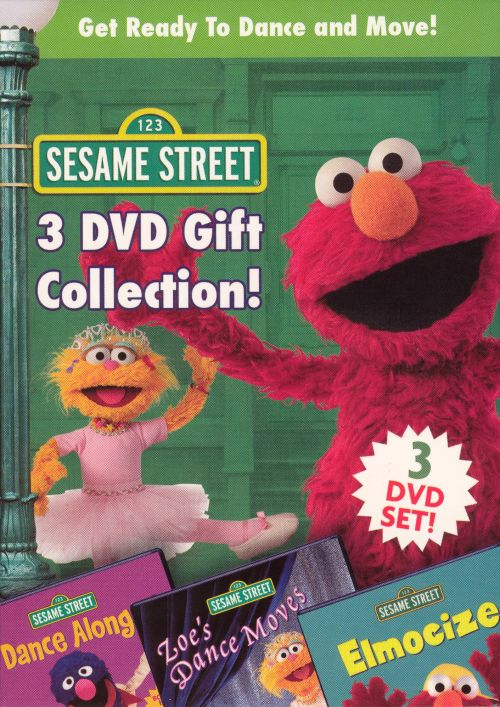 Get Ready to Dance and Move! Sesame Street 3 DVD Gift Collection! [DVD & CD]