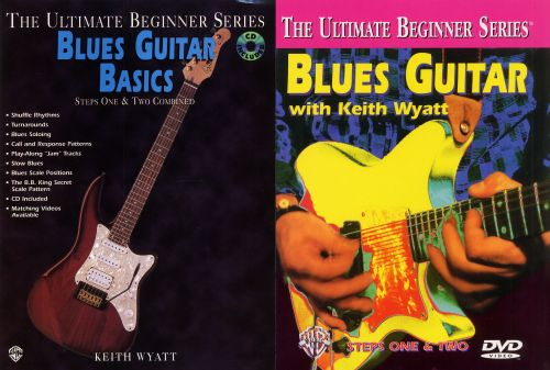 Blues Guitar Basics: Steps One & Two Combined