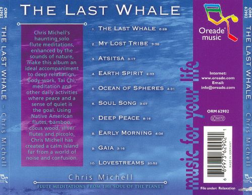 The Last Whale: Flute Meditations from the Soul of the Planet