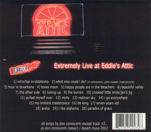 Extremely Live at Eddie's Attic