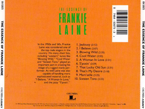The Essence of Frankie Laine