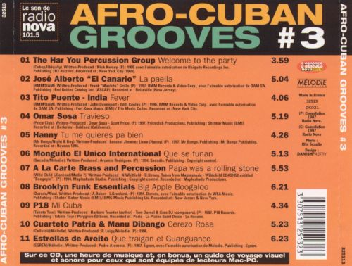 Afro-Cuban Grooves, Vol. 3 [Melodie]