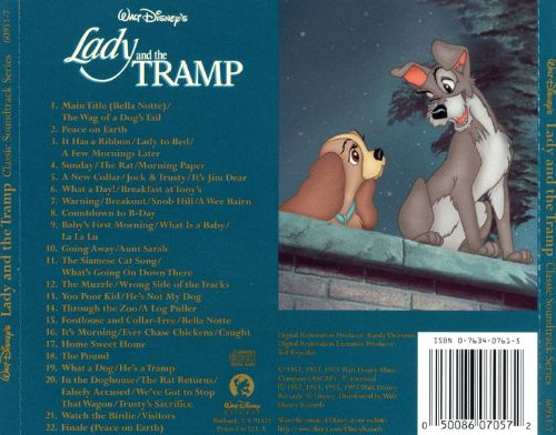 Lady and the Tramp [Original Motion Picture Soundtrack]