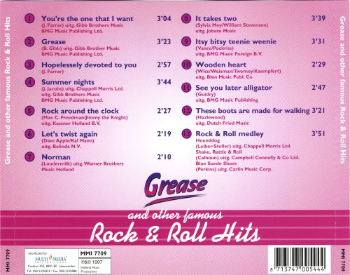 Grease and Other Rock & Roll Hits