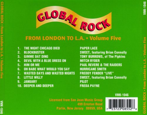 Global Rock, Vol. 5: From London to L.A.