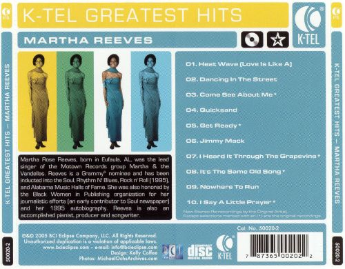 K-Tel Greatest Hits