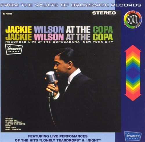 Jackie Wilson at the Copa