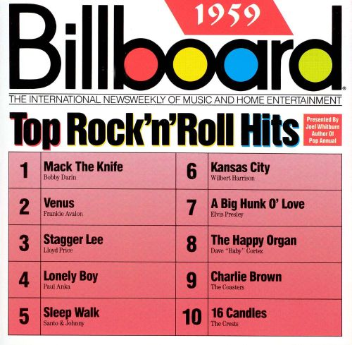 Billboard Top Rock & Roll Hits: 1959
