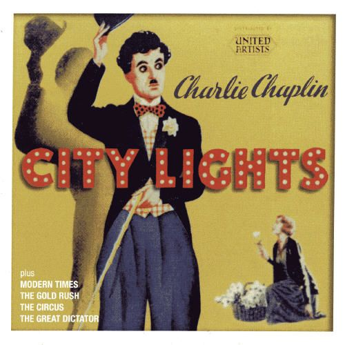an introduction to the charlie chaplin in the movie city lights Hand color tinted photo of charlie chaplin from the 1931 movie, city lights.
