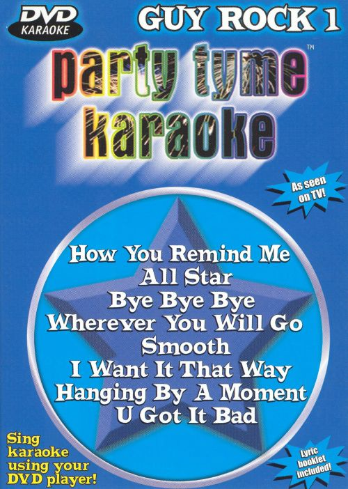 Party Tyme Karaoke: Guy Rock, Vol. 1 [DVD]