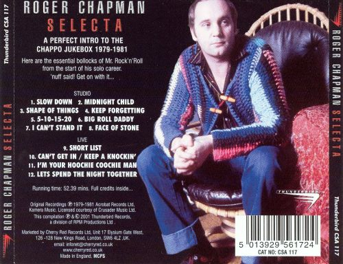 Selecta: The Best of Roger Chapman 1979-1984