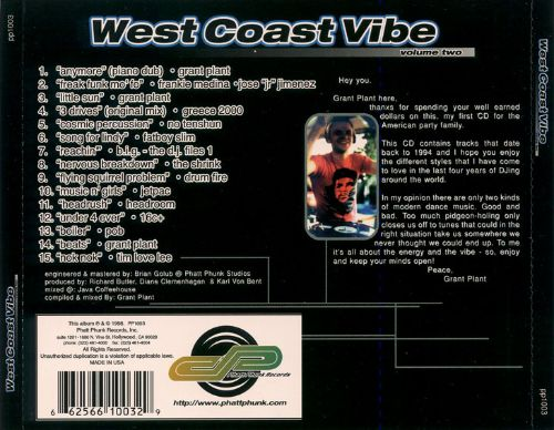 The West Coast Vibe, Vol. 2