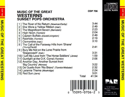 Music of the Great Westerns