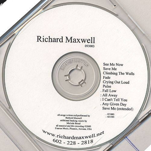 Richard Maxwell 093003