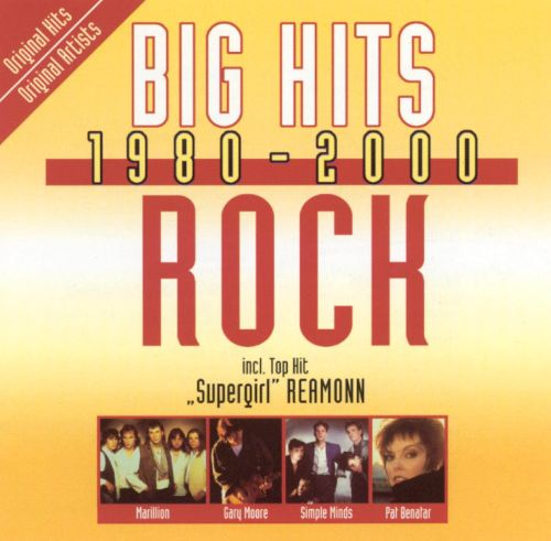 Big Hits, 1980-2000: Rock