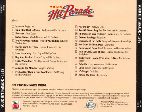 Your Hit Parade: 1948