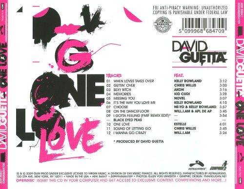 One love david guetta album
