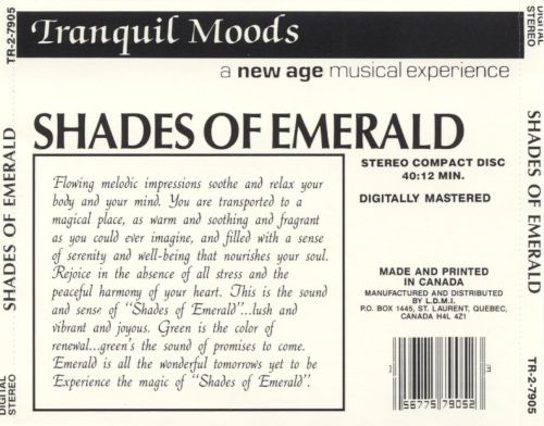 Tranquil Moods: Shades of Emeralds