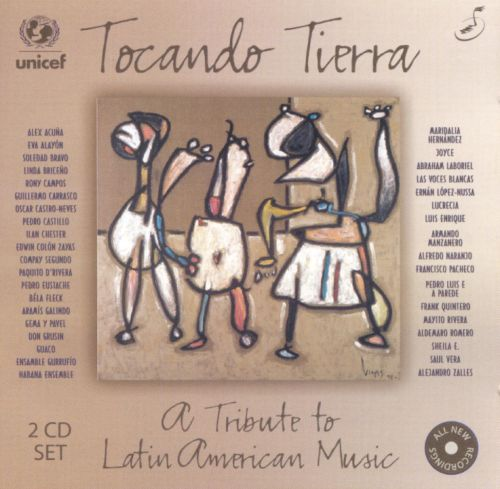 Tocando Tierra: A Tribute to Latin American Music [2 CD]