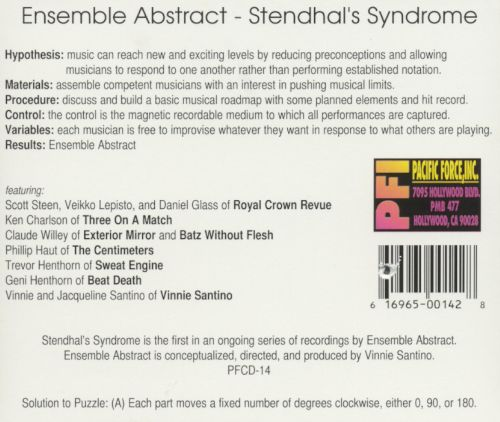 Stendhal's Syndrome