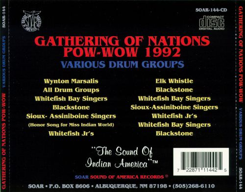 Gathering of Nations Pow-Wow 1993