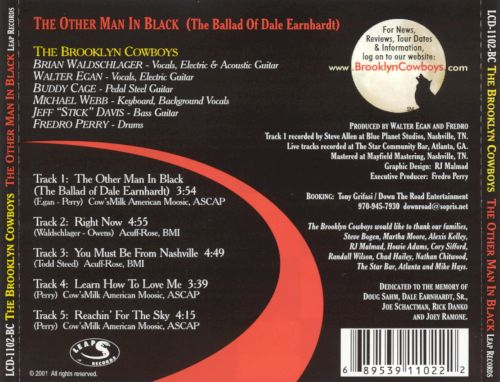 The Other Man in Black: Tribute to Dale Earnhardt