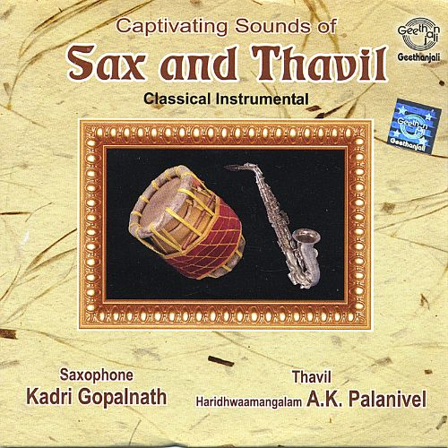 Captivating Sounds of Sax and Thavil