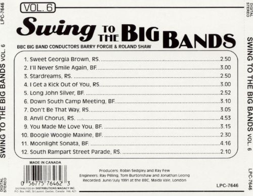 Swing to the Big Bands, Vol. 6
