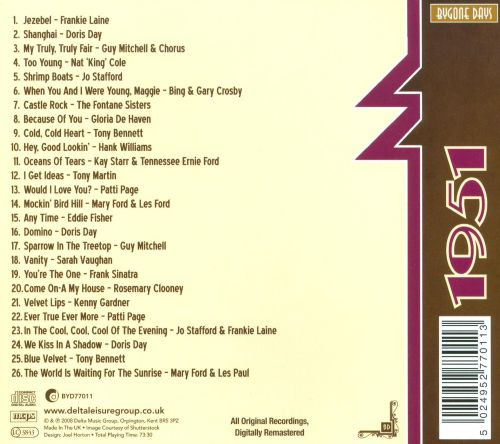 Great Songs of 1951