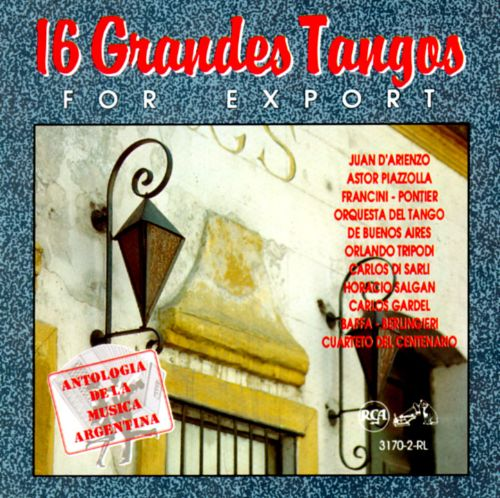 16 Grandes Tangos for Export