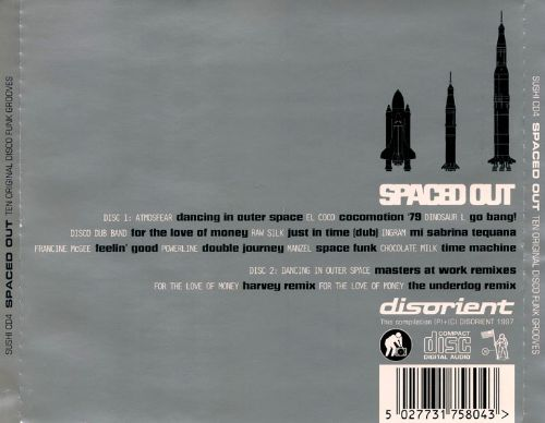 Spaced Out: Ten Original Disco Funk Grooves
