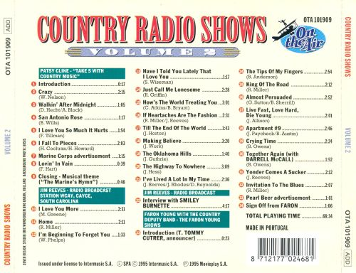 Country Radio Shows, Vol. 2