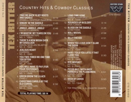 Country Hits and Cowboy Classics