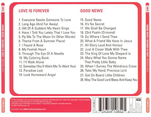 Love Is Forever/Good News