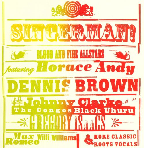 Blood and Fire All Stars: Singerman!