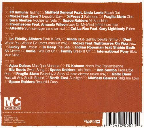 Mastercuts Chilled: 3 CD's Of Essential Chillout Classics