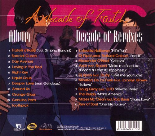 Decade of Truth [2 CD]