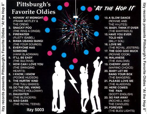 Pittsburgh's Favorite Oldies: At the Hop, Pt. 2